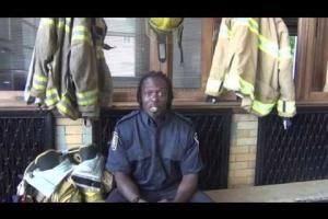 Pompiers à votre service