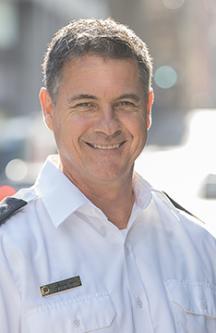 Portrait du Chef aux opérations Dany Lalancette