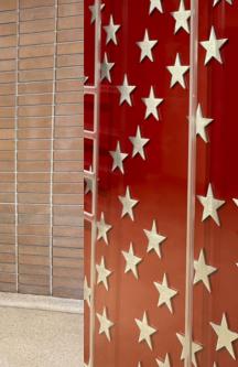 Mémorial en mémoire aux pompiers new-yorkais décédés lors des attentats du 11 septembre