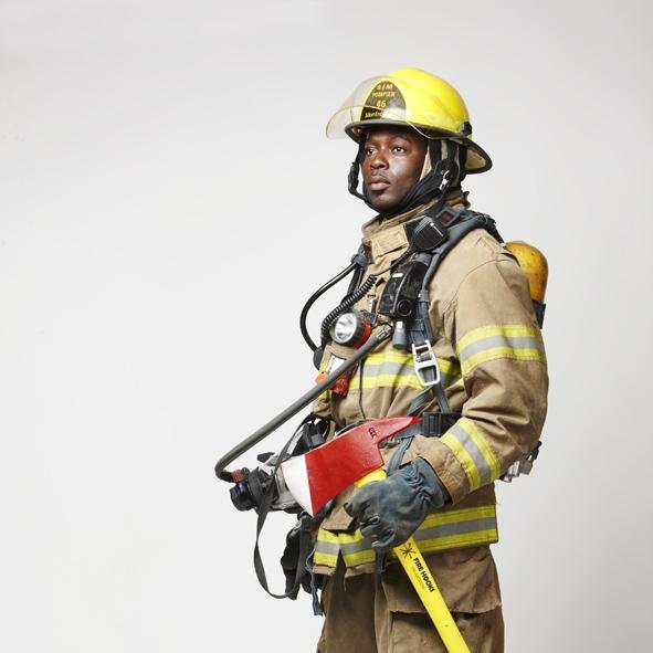 Montréal firefighter
