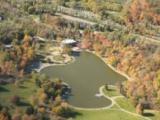 Vue aérienne du parc du Mont-Royal.