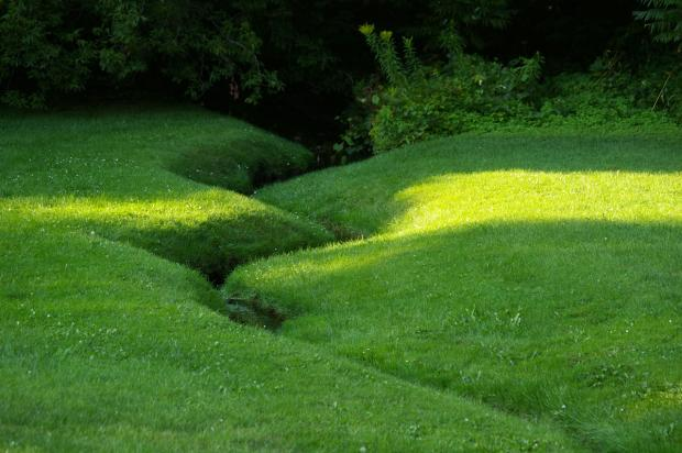 Ruisseau Springgrove aujourd'hui dans le cimetière du Mont-Royal.