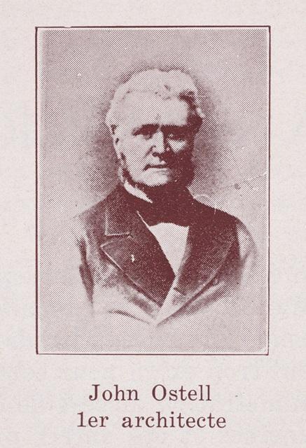 Portrait en buste de John Ostell.