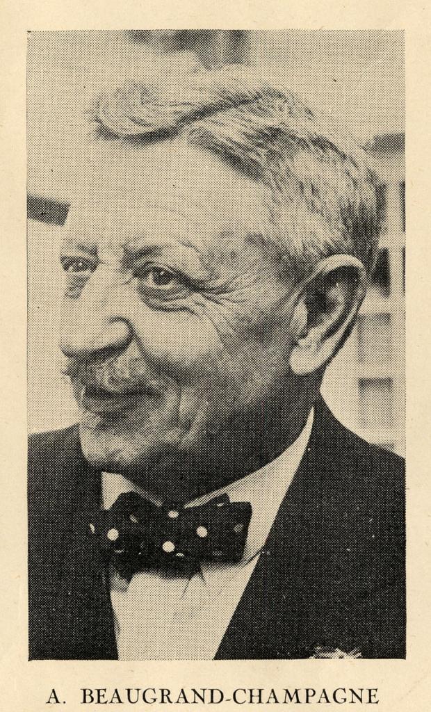 Aristide Beaugrand-Champagne en octobre 1937.