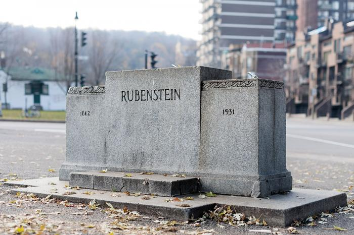 """Louis Rubenstein, 1862-1931"", avant 1940."