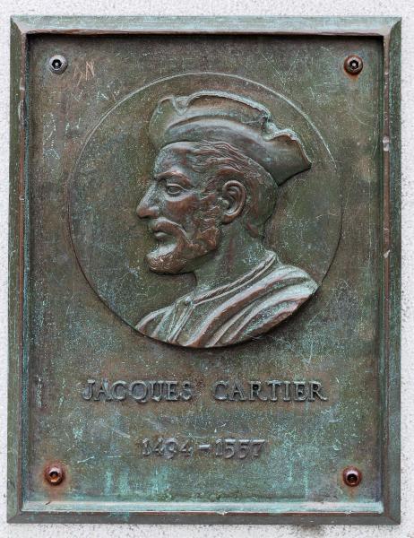 """""""IVe Centenaire de Jacques Cartier à Montréal"""" (portrait), vers 1935."""