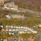 L'ancienne Ferme-sous-les-noyers des Sulpiciens. Photographie aérienne.