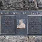 """""""Frederick Law Olmsted, 1822-1903"""", 1984, détail."""