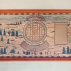 """Paul-Émile Borduas, """"Plan d'Hochelaga par Cartier en 1535"""", 1931."""
