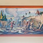 """William Thurston Topham, """"Dollard des Ormeaux meurt au Long-Sault pour sauver la Ville"""", 1931."""