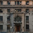 Élévation principale du pavillon Beatty, situé sur le palier géographique de l'avenue des Pins. Photographie.
