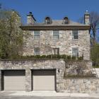 La façade arrière de la maison William H. Chase donne directement sur le parc du Mont-Royal.
