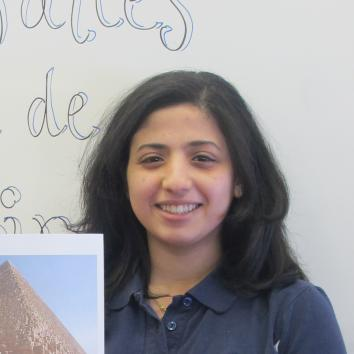 Aliaa Sayed et son trésor de famille