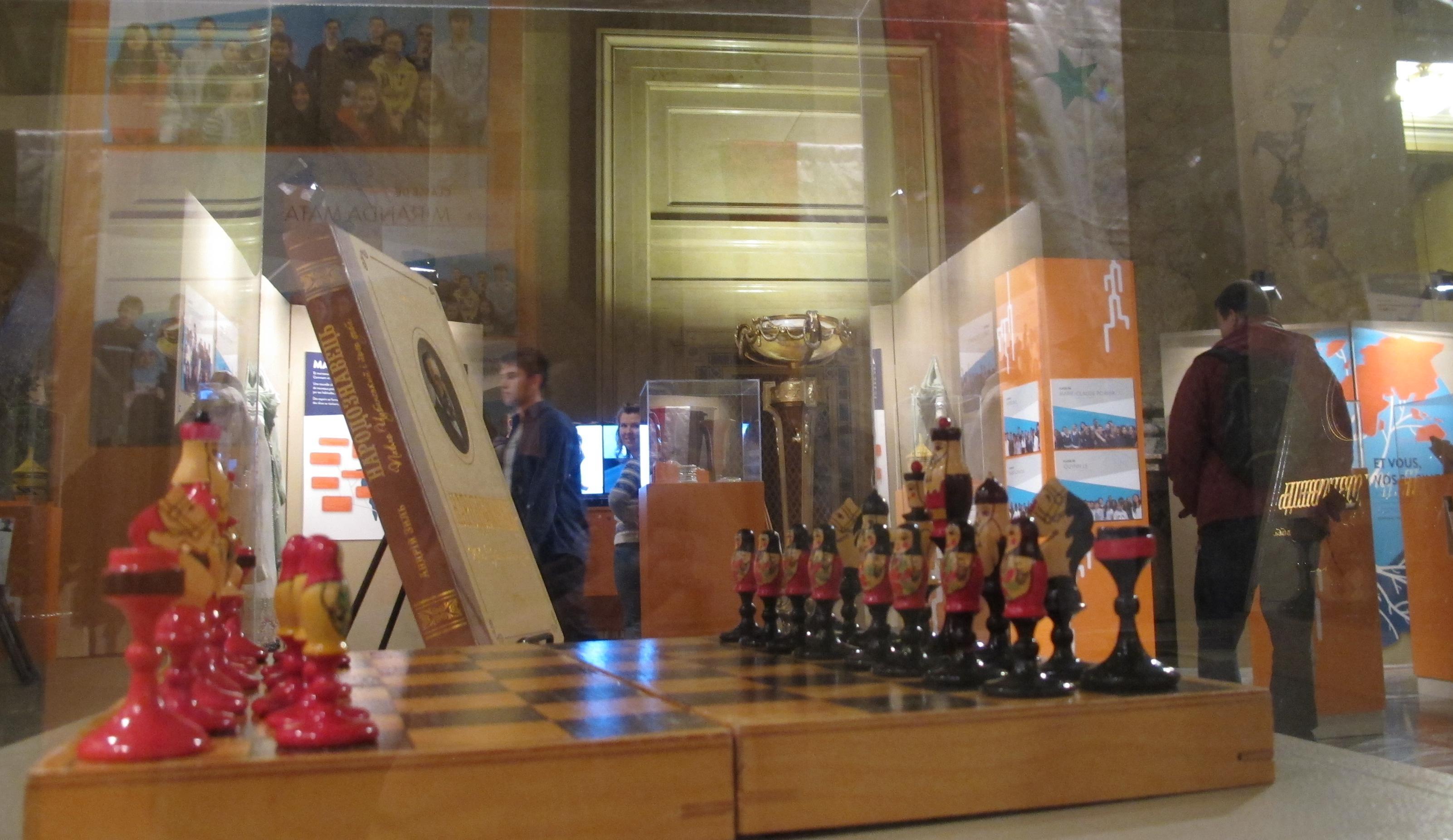 Photo d'un jeu d'échec