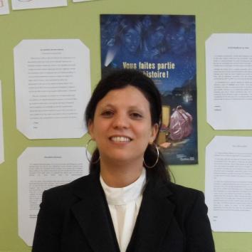 Photo de Hayat Jalil enseignante