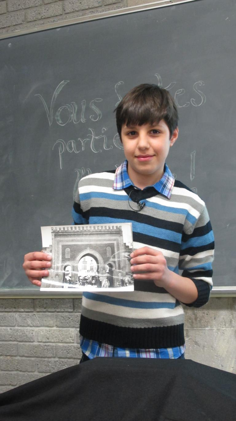 Imad Eddine Bjitar et son trésor de famille
