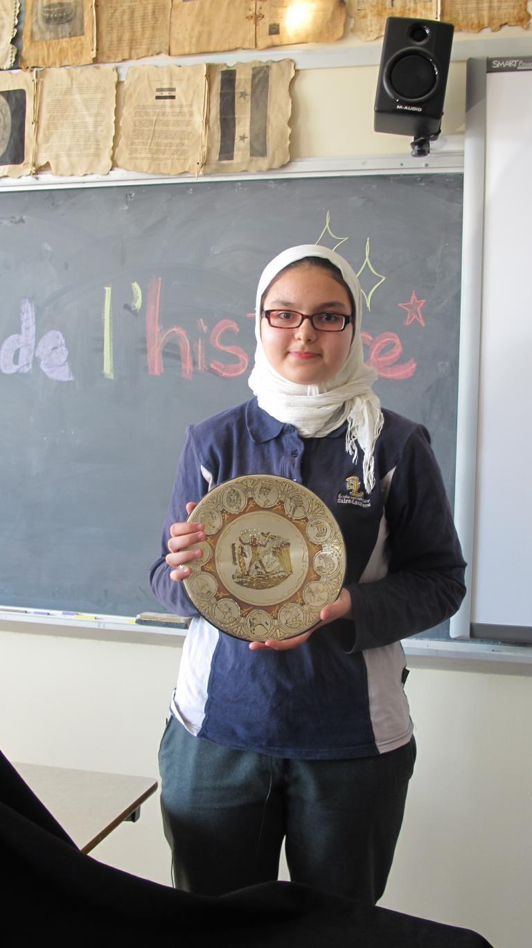 Maria Salem et son trésor de famille